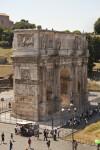 Roman Arch of Triumph Dedicated to the Emperor Constantine