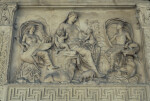 Rome, Ara Pacis, East Front, Goddess or Personification