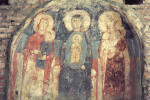 Rome, Santa Maria Antiqua, St. Anne, Mary, and Elizabeth with their Infant Children