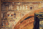 Rome, Santa Maria Maggiore, Sanctuary Arch, Mosaics of Infancy of Jesus, Left Side