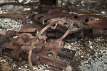 Rope and Rusted Machine Pieces at Windley Key Fossil Reef Geological State Park