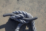 Rope Tied to a Dock Cleat