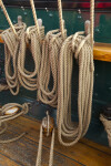Ropes Tied to Wood