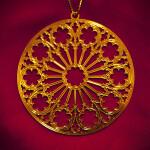 Rose Window Ornament