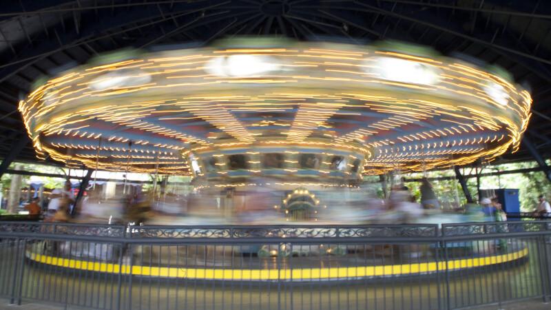 Rotating Merry-Go-Round