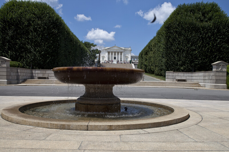 Rounded Fountain