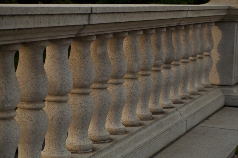 Rows of Balustrades