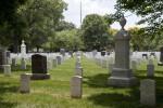 Rows of Gravestones