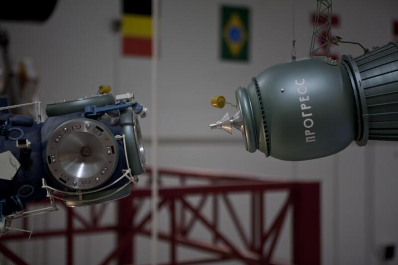Russian Spacecraft Docking