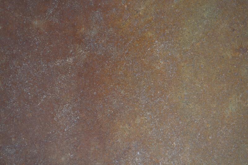 Rust-Colored Concrete Floor