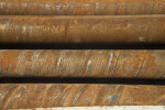 Rusted Metal Pipes