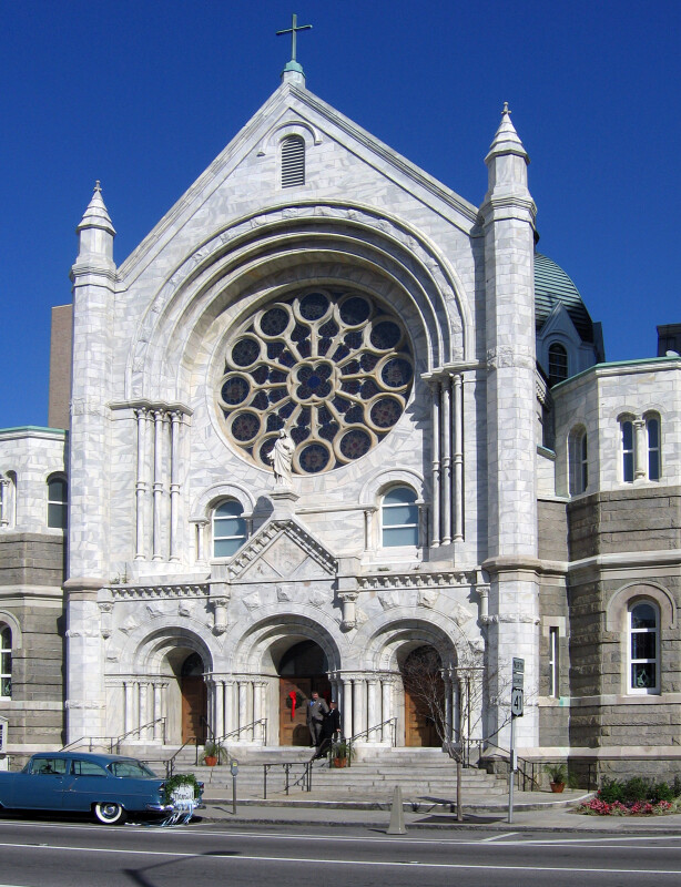 Sacred Heart Catholic Church Facade