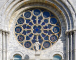 Sacred Heart Catholic Church Window