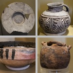 Salinas Pottery and Other Artifacts photographs