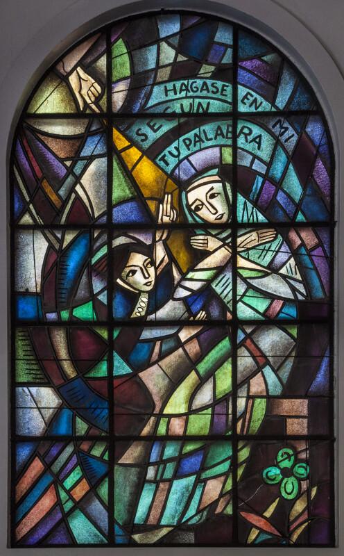 "San Antonio de Padua ""Be It unto Me According to Thy Word"" Window"