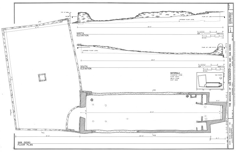 San Isidro Plan and Elevation Drawings