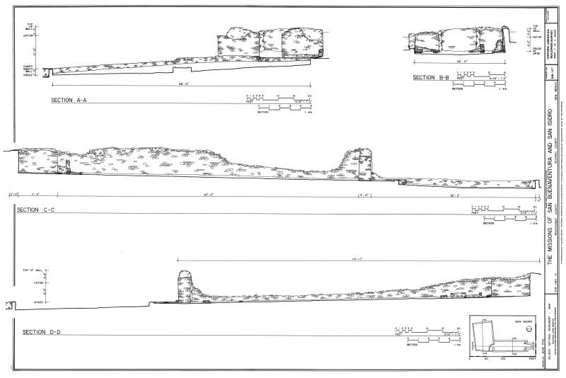 San Isidro Section Drawings