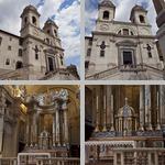 Santissima Trinita' dei Monti photographs