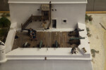 Scale Model of Fort Matanzas Viewed from Above, Close-up