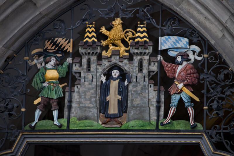 Scene of Rathaus-Glockenspiel