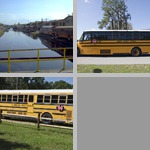 School Buses and Other Transportation photographs
