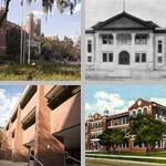 School Exteriors photographs