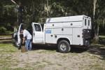 Scientist Prepares to Test Hillsborough River Water