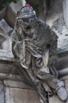 Sculpture of a Man on a Corbel