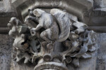 Sculpture of a Squirrel at New Town Hall
