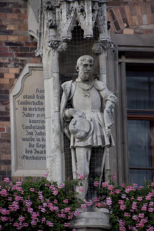 Sculpture of Albert V, Duke of Bavaria