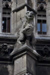 Sculpture of Frog at New Town Hall
