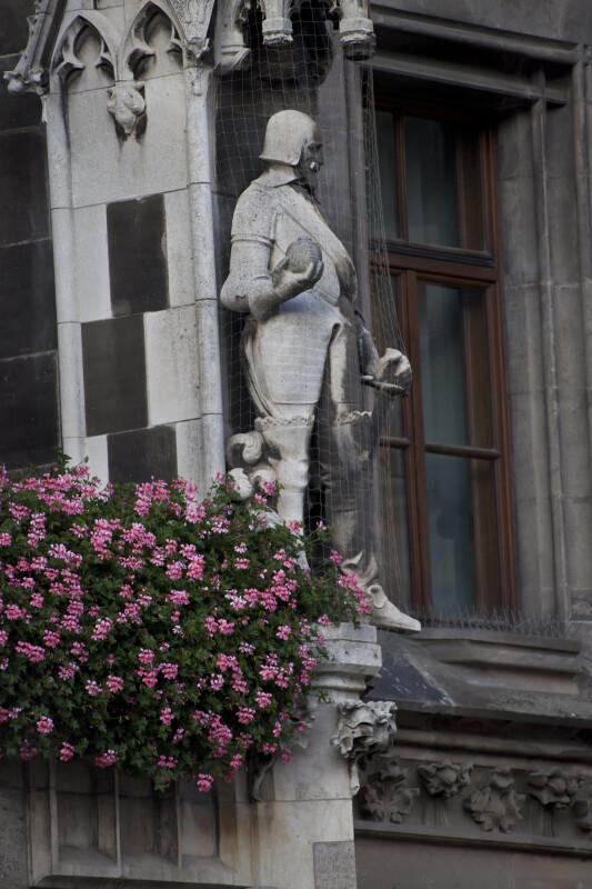 Sculpture of German Duke