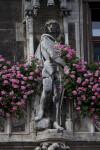 Sculpture of German Soldier