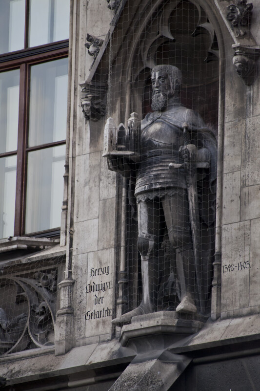 Sculpture of Louis VII, Duke of Bavaria