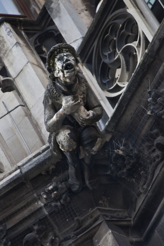 Gargoyle on the New Town Hall