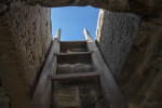 Scuttle Access to  Observation Deck at Fort Matanzas, Close-up