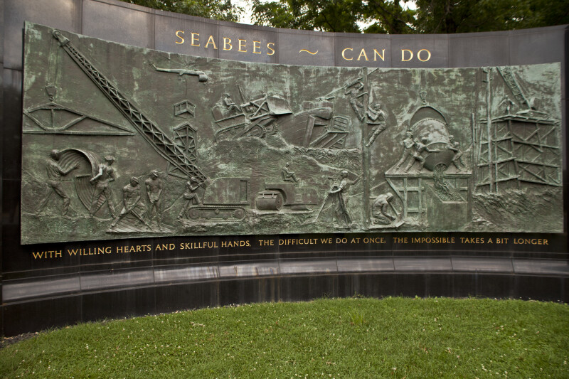 Seabee Memorial Wall