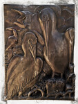 Seabirds in Bronze