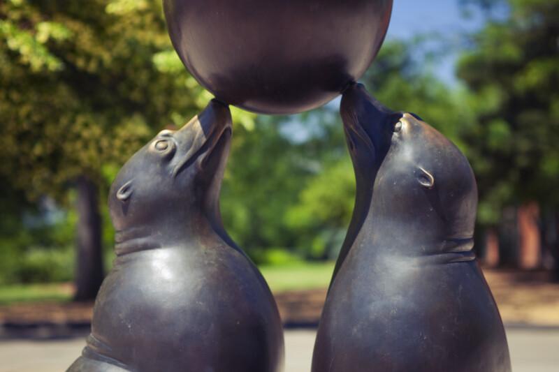 Seal Sculpture Detail