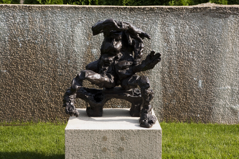 Seated Woman on a Bench