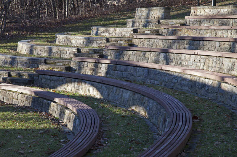 Seating at an Outdoor Amphitheater