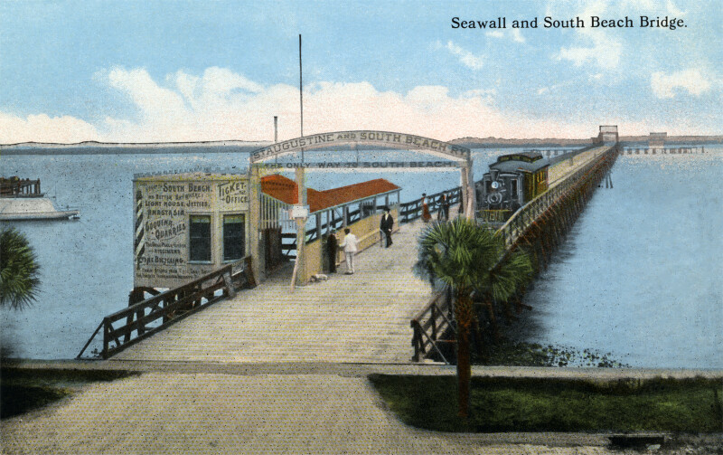Seawall and South Beach Bridge (train instead of streetcar)