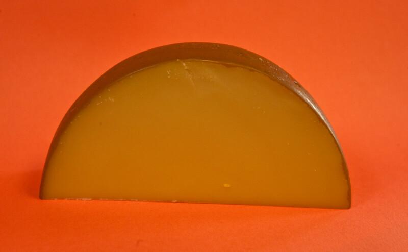 Semi-Circle of Cheese