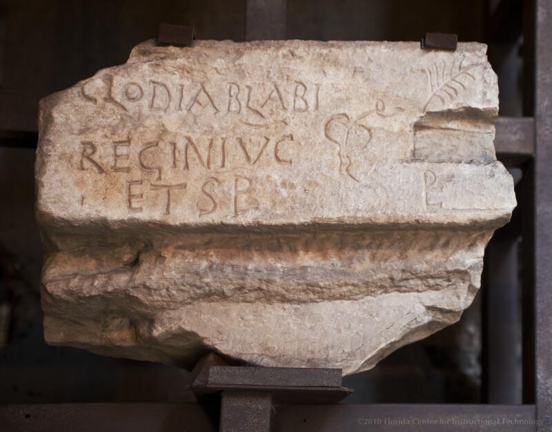 Senator Clodius Ablabius Reginus