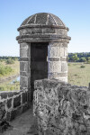 Sentry Box, Fort side