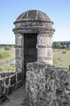 Sentry Box, Fort side