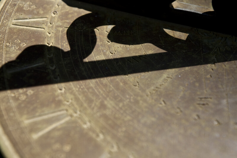 Shadow on Sundial