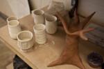 Shelf with Various Ceramics