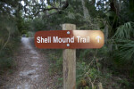 Shell Mound Trail Sign