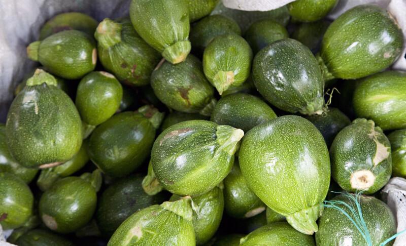 Shiny Green Fruit